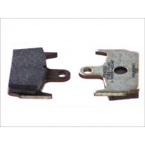 Fékbetét Készlet Rear argento-AG 59 1x44 6x9 6mm HONDA X8R/ SZX