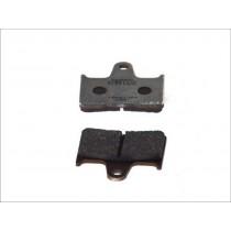 Fékbetét Készlet Rear 59 9x57 2x8 1mm KAWASAKI GTR ZX-7RR ZZR
