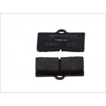Fékbetét Készlet Rear 59 9x57 2x8 1mm