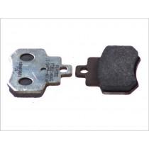 Fékbetét Készlet Rear argento-AG 55 6x46x7mm KYMCO GRAND DINK 250 2001-