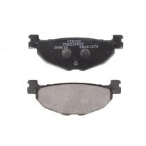 Fékbetét Készlet Rear eco friction-EF 100 1x38 3x12mm
