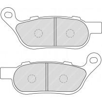 Fékbetét Készlet Rear 127 6x52 6x7 4mm