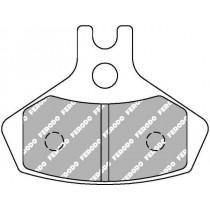 Fékbetét Készlet Front  67 6x52 1x7 5mm
