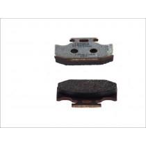 Fékbetét Készlet Rear 62 1x40 9x9 4mm KAWASAKI KLX KX